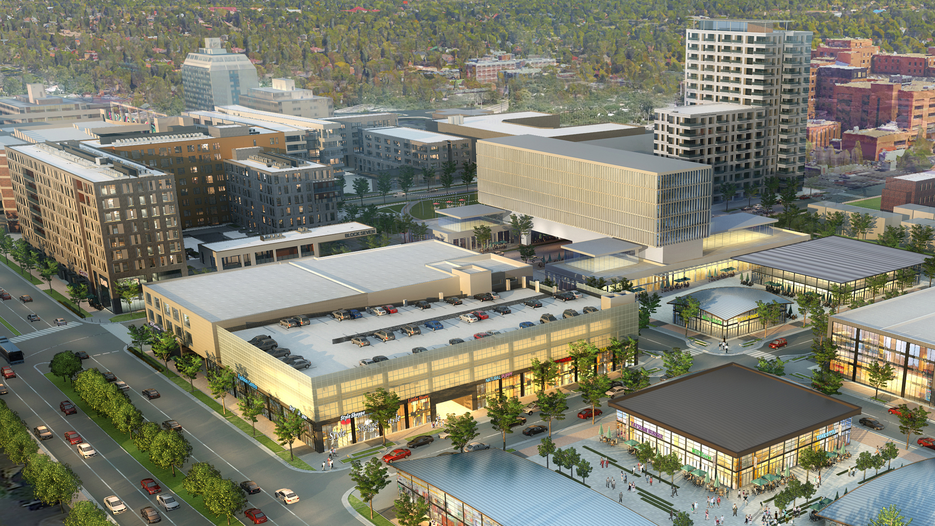 <p>Upon completion, 9th & Colorado will bring the communities surrounding this site an important new commercial center within walking and biking distance of some of central Denver's highest value residential neighborhoods.</p>