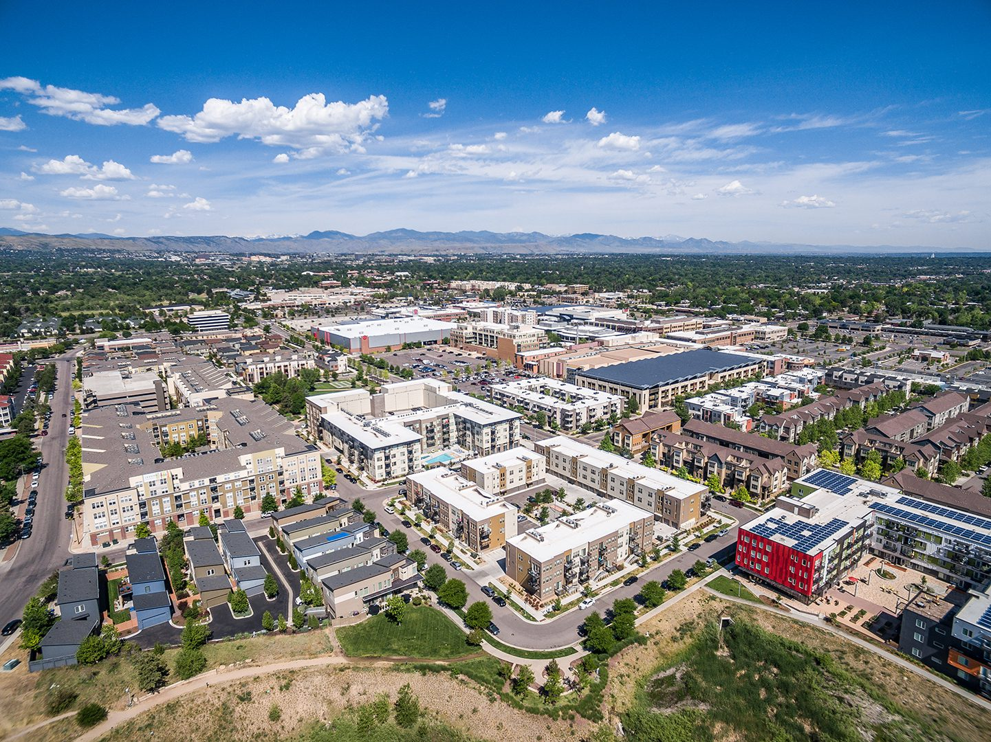 <p>Belmar reset the region's expectations about how our traditional suburban communities could be adapted to a more ecologically sustainable and human-scaled feature.</p>