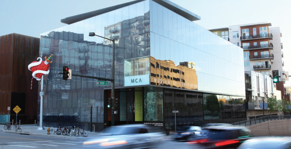 <p>The 26,000-square-foot cube-shaped Museum of Contemporary Art was London-based architect David Adjaye's first public commission in the US.</p>