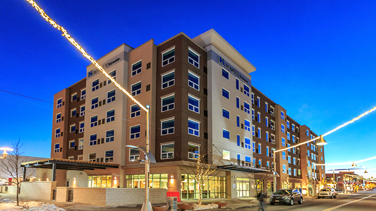 """<p>The latest addition to Continuum's award winning mixed-use Belmar Shopping Districtis the upscale, $22.9 million extended-stay Hyatt House Hotel.</p> <p>For more details visit: <a href=""""http://denverlakewood.house.hyatt.com"""" target=""""_blank"""" rel=""""noopener noreferrer"""">Hyatt House Denver/Lakewood at Belmar</a></p>"""