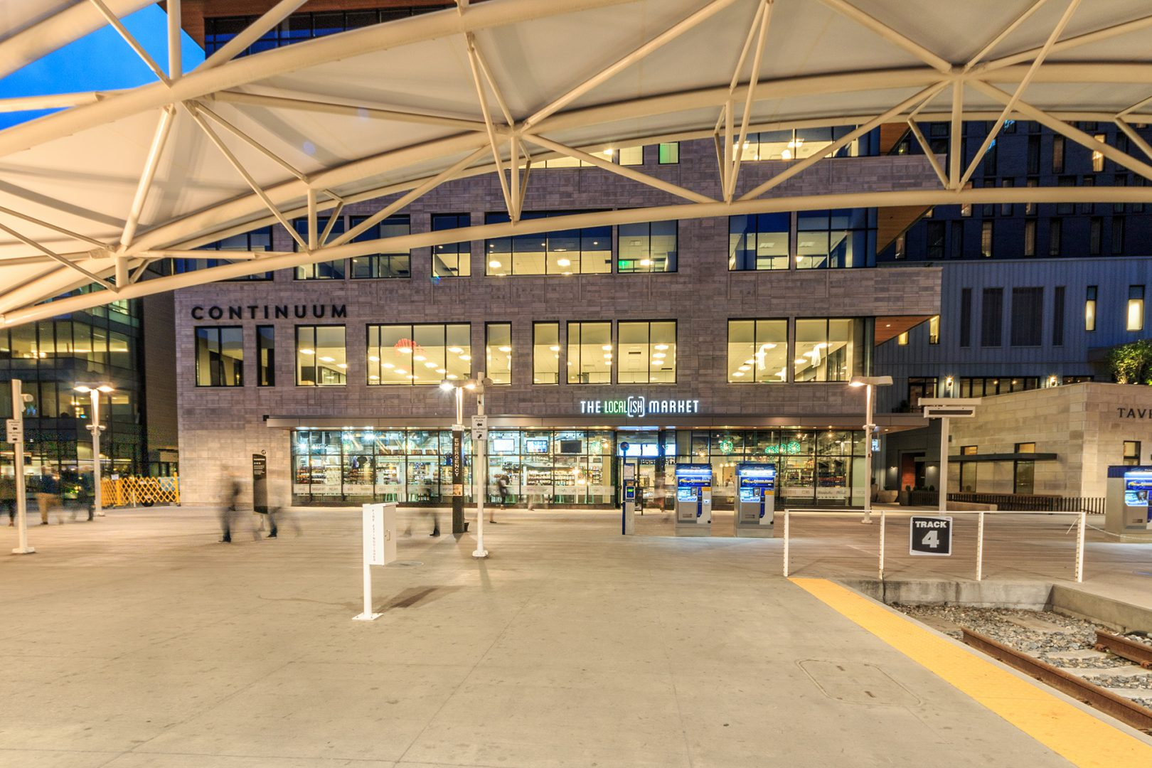 <p>The first thing visitors see when they step off the train from DIA, this project is one of the keystone elements of the multi-billion dollar development.</p>