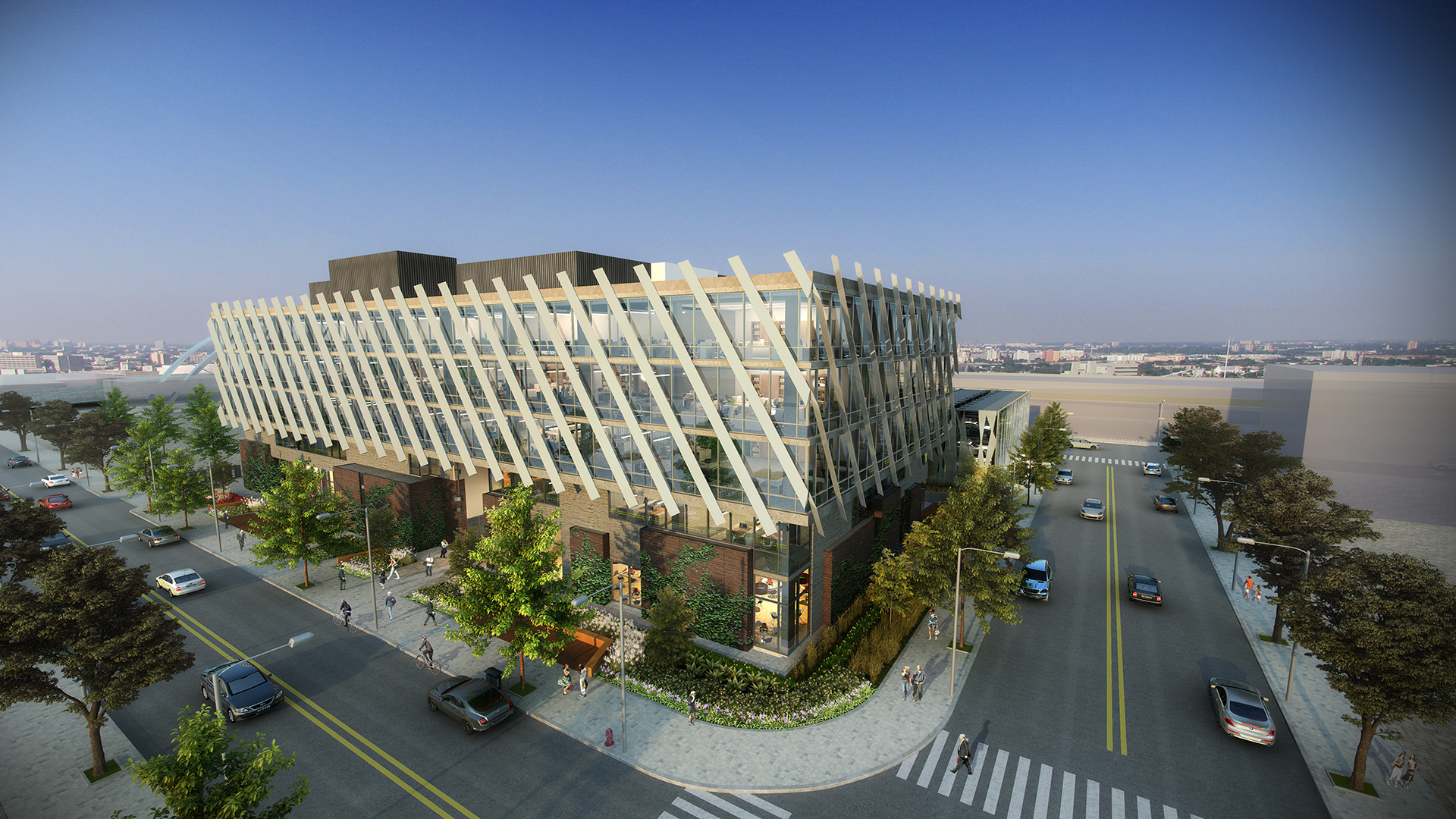 <p>116,000-SF creative office building in the heart of the L.A. Arts District</p>